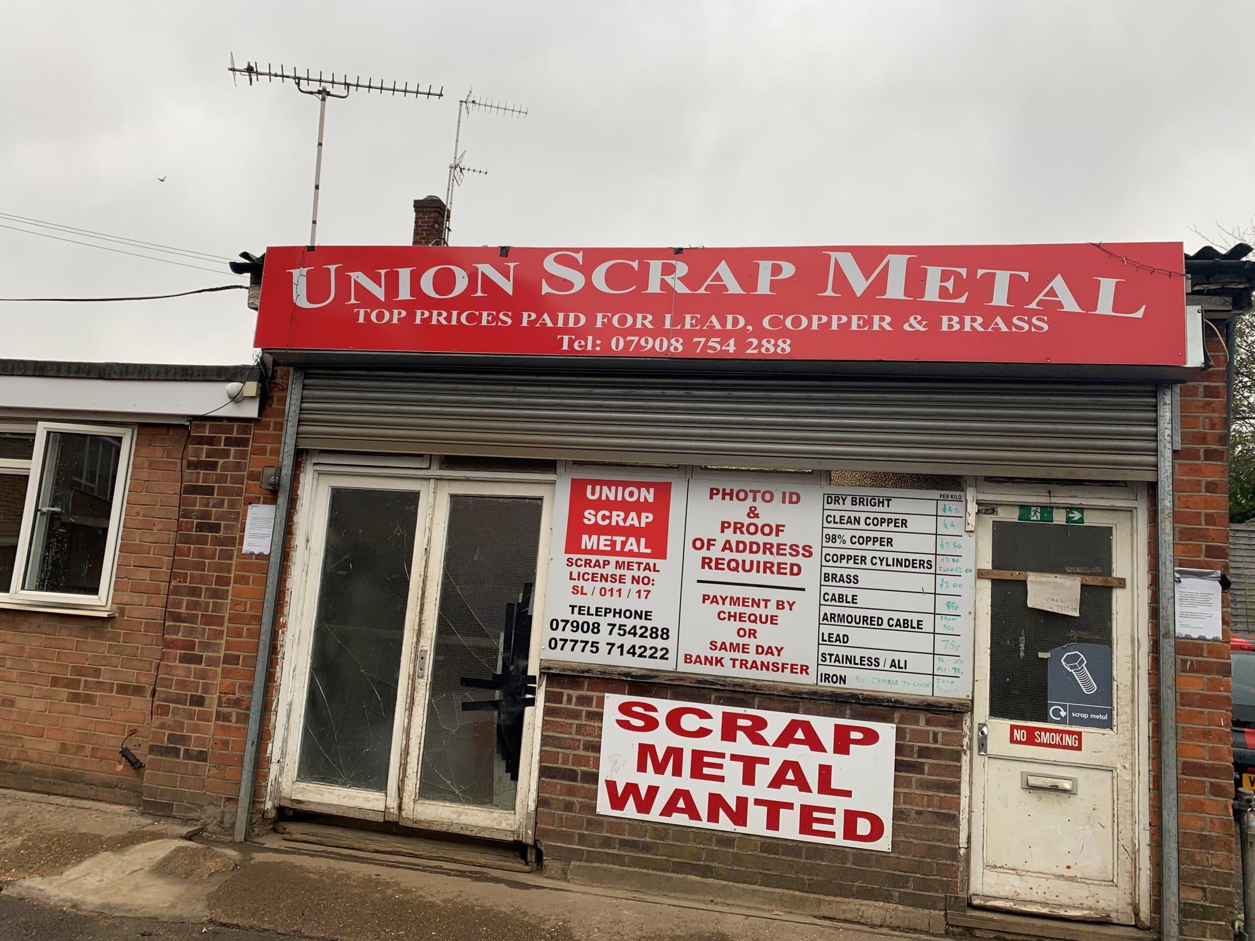 Scrap Metal Dealers Hertfordshire & North London
